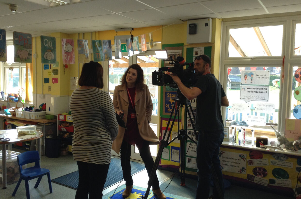 Get a Look Inside St George's School with ITV