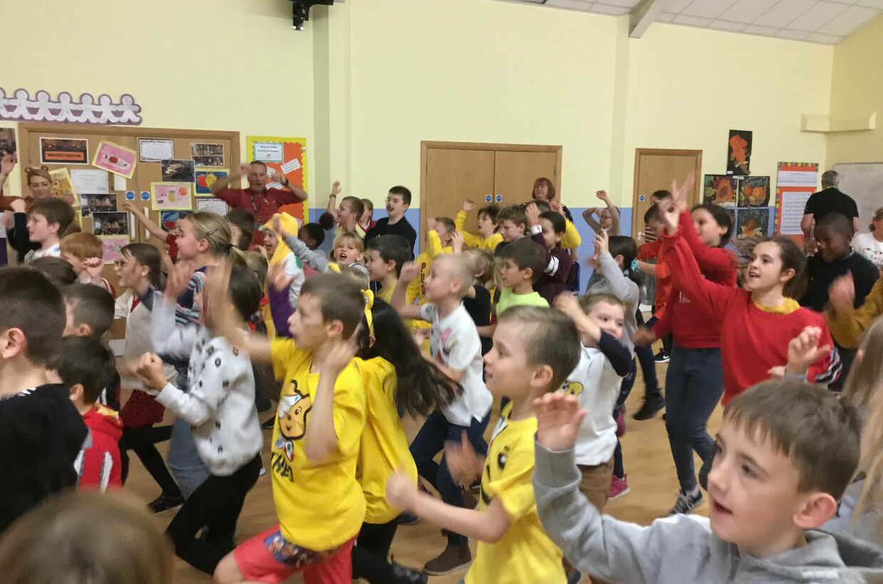 St G's joins the Big Move in aid of Children in Need
